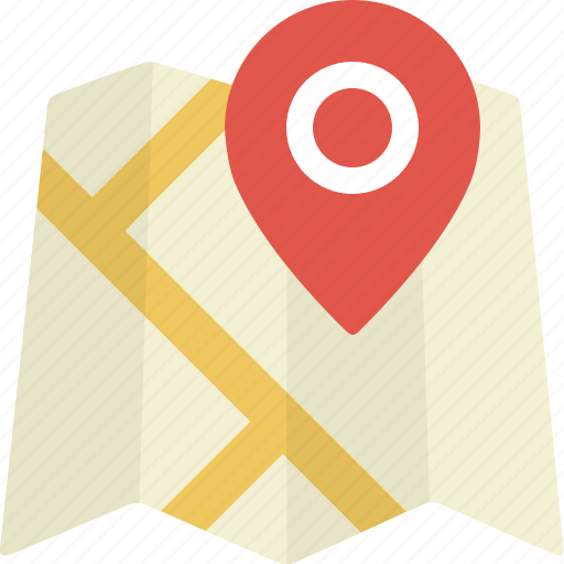 gps, location, map, pin, place, pointer icon