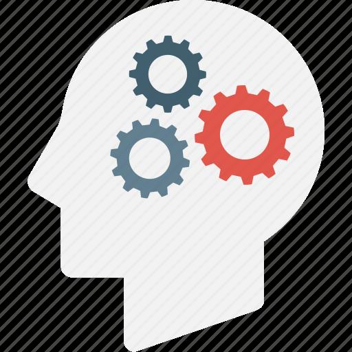 brain, mind, think icon