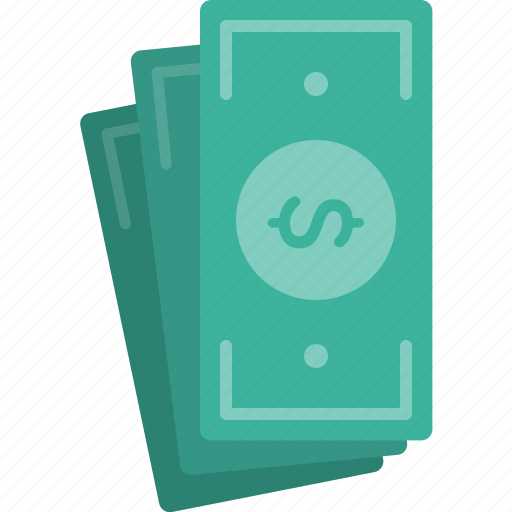banknote, cash, dollar, finance, money icon