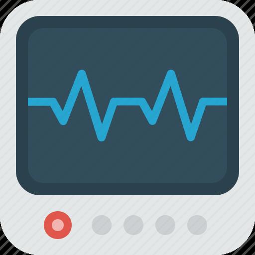emergency, health, healthcare, medical, medicine, monitor icon