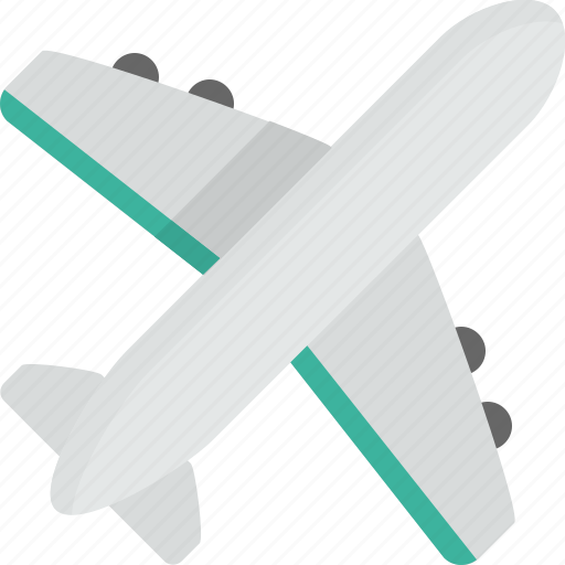 aeroplane, flight, fly, plane, transportation, travel icon