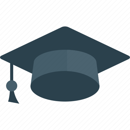 education, graduate, hat, student, study icon