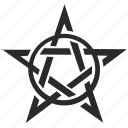 antichrist, hell, pentagram, pentagramm, sign, star icon