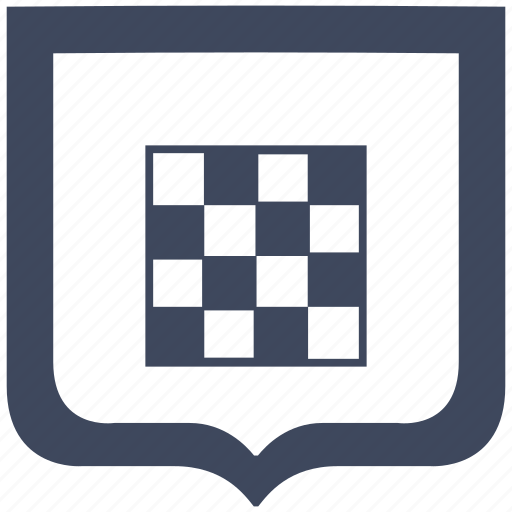 app, chess, game, shield icon