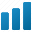 bar chart, business graph, data analysis, growth, increase, sales report, statistics icon