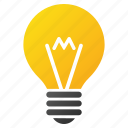 bulb, electrical lamp, electricity, energy, hint, idea, lightbulb