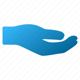 donation, gesture, hold, offer, palm, share, sharing hand icon