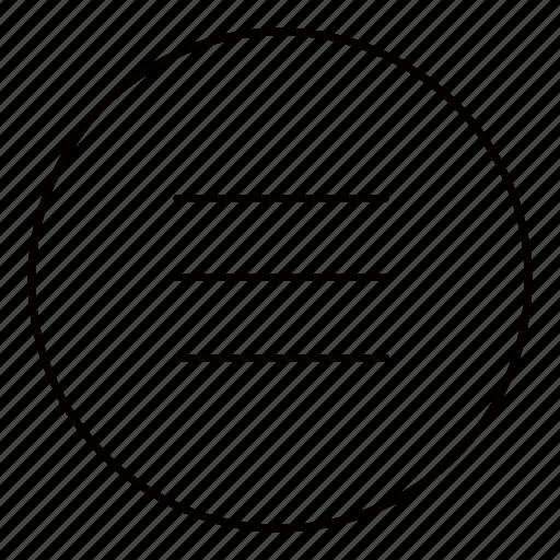 bars, drawer, grid, list, menu, option, stack icon
