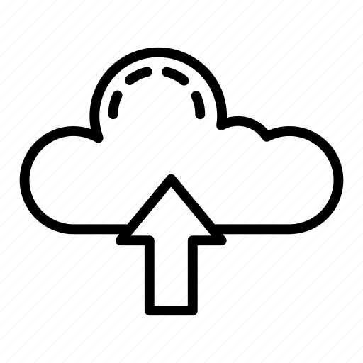 Cloud, data, server, storage, upload icon - Download on Iconfinder