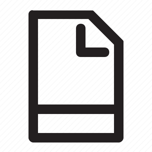 32px, basic, file, general, job, line, universal icon - Download on Iconfinder