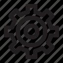 32px, basic, general, job, line, setting, universal icon