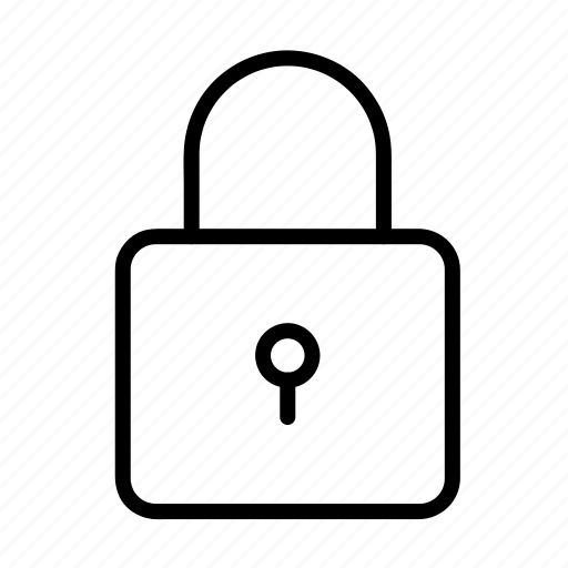 lock, pad lock, password, safe, security icon