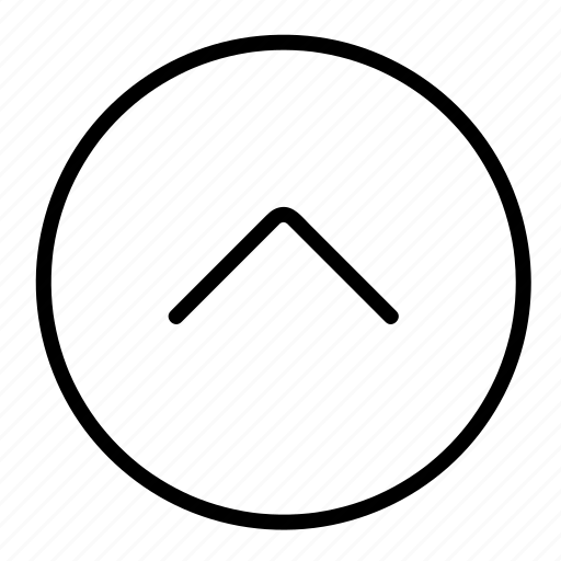 arrow, direction, forward, increase, up icon