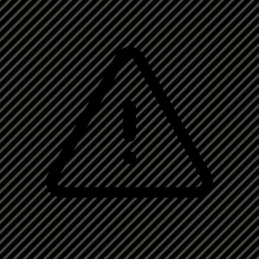 alarm, alert, attention, sign, warning icon