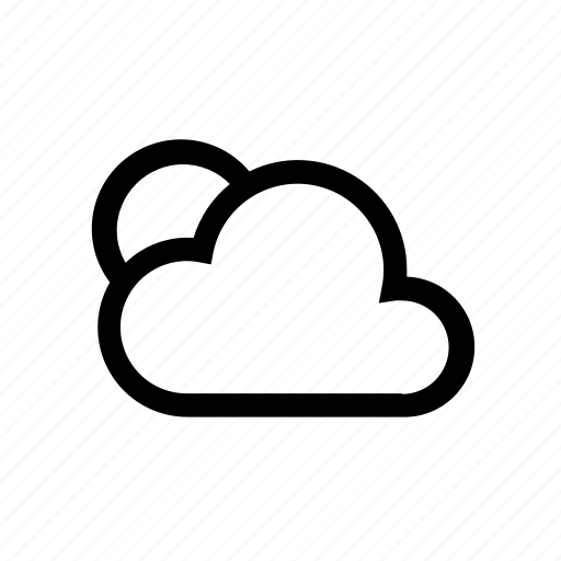 cloud, cloudy, forecast, wheater icon