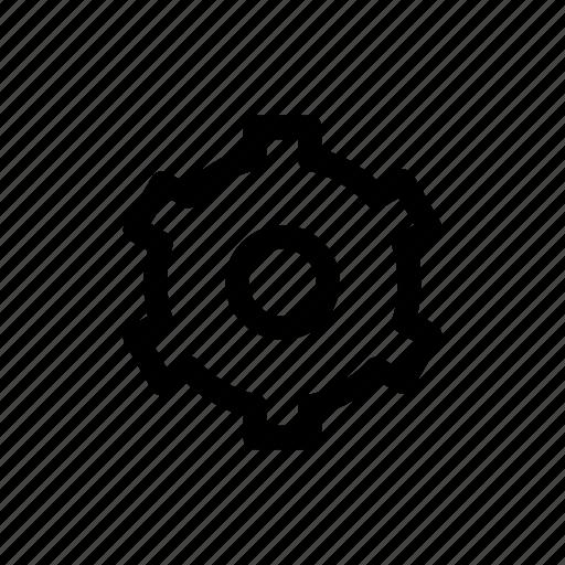 cog, gear, options, setting, settings icon