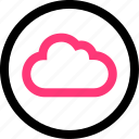 cloud, data, save, weather icon