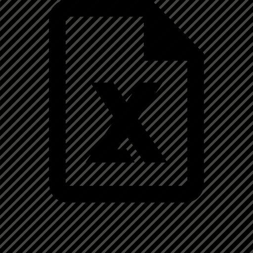 basic, calc, calculator, document, excel, microsoft, office icon