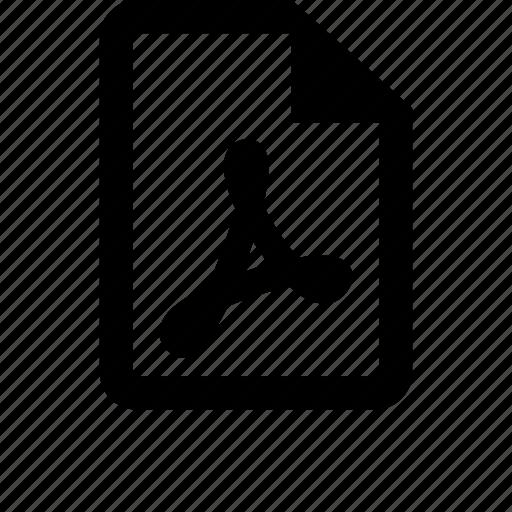 adobe, basic, file, files, office, pdf, preview icon