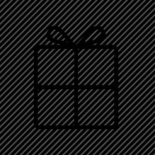 box, gift, heart, ribbon, shopping, valentine icon