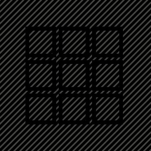 food, grid, interface, menu, sweet, ui icon