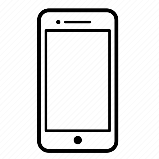 call, iphone, network, screen, smartphone, technology icon