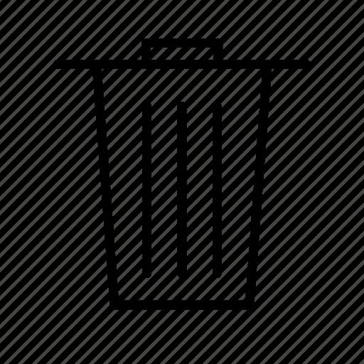 dustbin, garbage, remote, remove, trash, waste icon