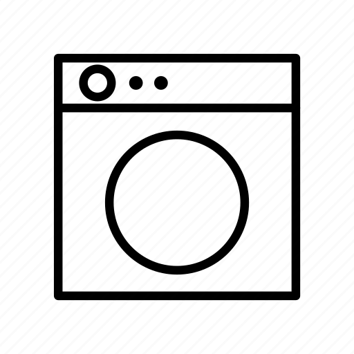 construction, home, industry, machine, property, wash icon