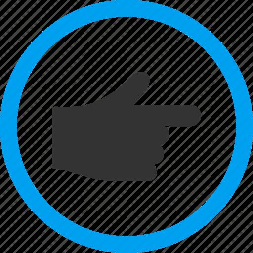 direction, hand, index pointer, navigate, navigation, point, show gesture icon