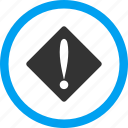 alarm, alert, attention, danger, error, exclamation, problem icon
