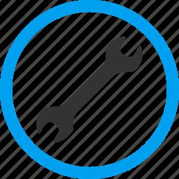 desktop configuration, equipment, maintenance, options, settings, spanner, wrench icon