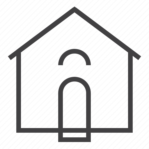 home, homepage, house, main page icon