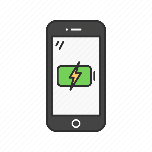 charge, charging phone, mobile battery, phone icon