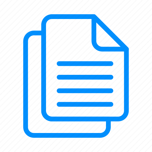 blue, document, documents, file, files, sheet, text icon