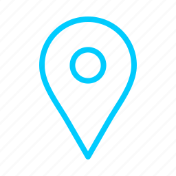 arrow, arrows, blue, direction, maps, point icon