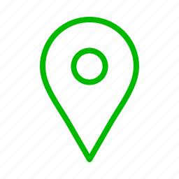 arrow, arrows, direction, green, maps, point icon