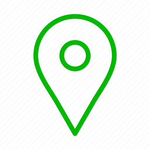 Arrow, arrows, direction, green, maps, point icon on