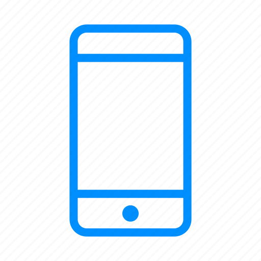 apple, blue, communication, device, iphone, message icon
