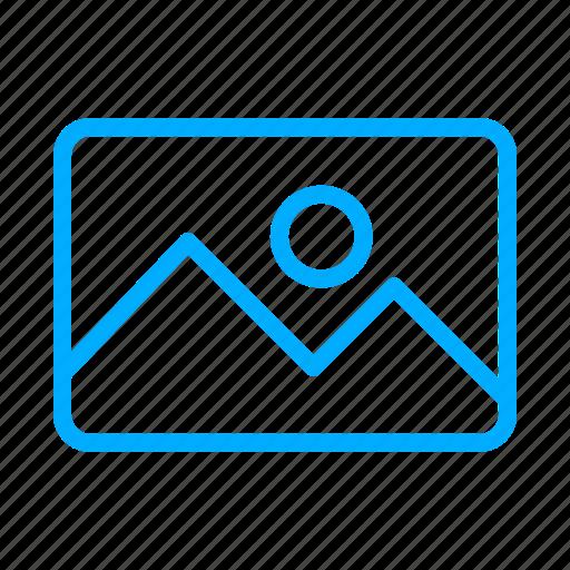 blue, camera, image, images, photo, photography icon