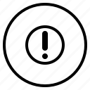 help, information, service, warning icon