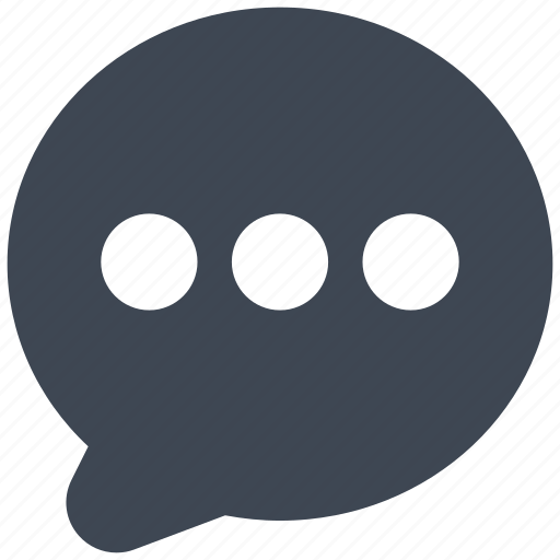 Bubble, chat, message icon - Download on Iconfinder