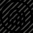 fingerprint, ui, interface, user, web