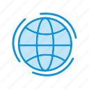 global, globe, web icon