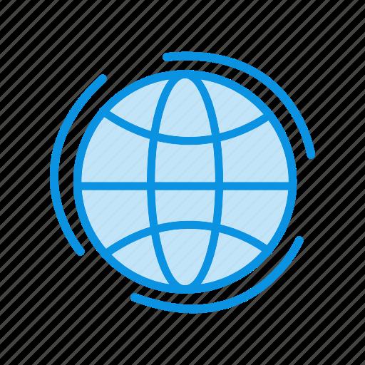 global, globe, web icon