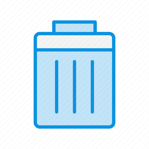 bin, delete, garbage icon