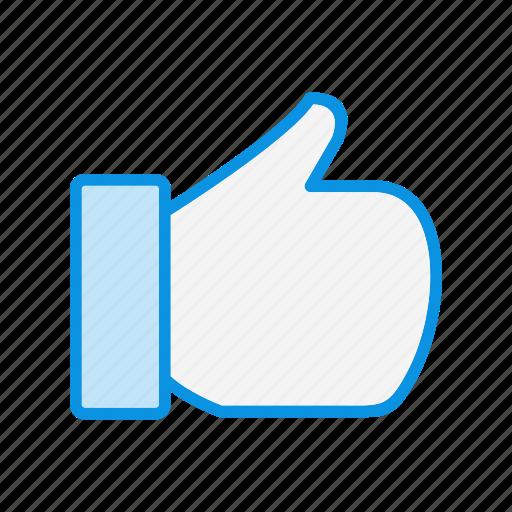 favorite, good, hand icon
