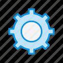 cog, control, option, setting, tool icon