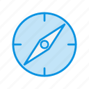 compass, gps, location icon