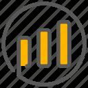 chart, signal, statistics, wifi