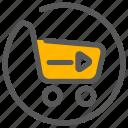 basket, cart, checkout, ecommerce icon